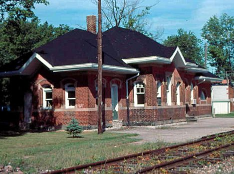 MC Columbiaville MI Depot